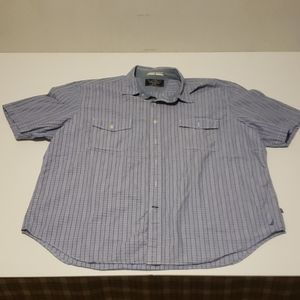 Nautica Button Down Short Sleeve Shirt Size XXL